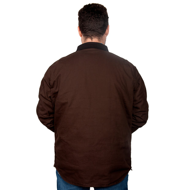 Just Country Diamantina Jacket Chocolate MWOJ1917 back