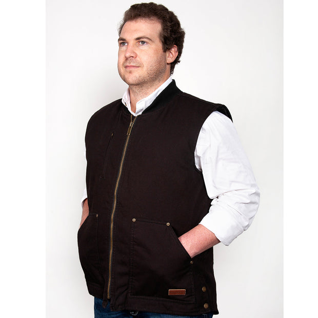 Just Country Diamantina Vest Black