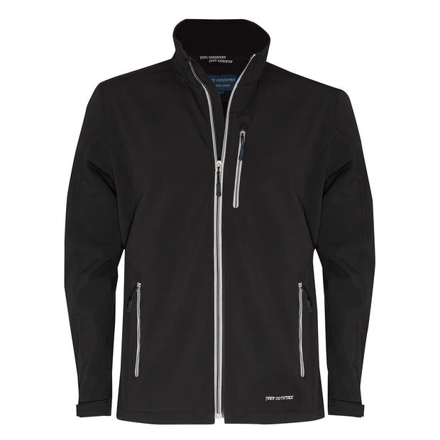 Just Country Men's - Geoffrey Softshell Jacket Black