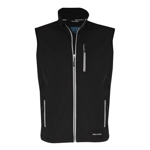 Just Country Men's Geoffrey Softshell Vest Black