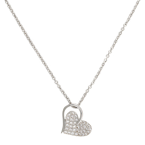 Montana Silversmiths Heart Print Necklace NC2512