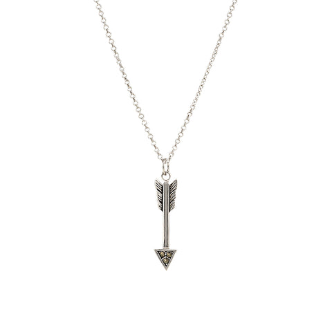 Montana Silversmiths Sparks Will Fly True Arrow Necklace NC2780