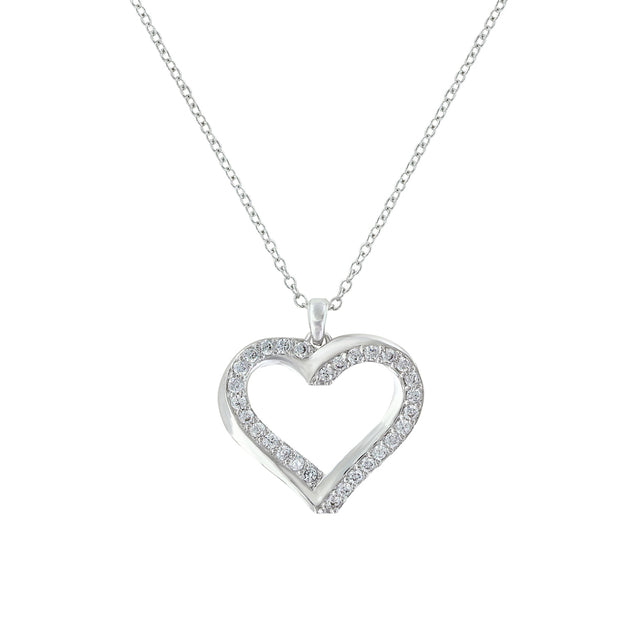 Bright Hearts Entwined Necklace