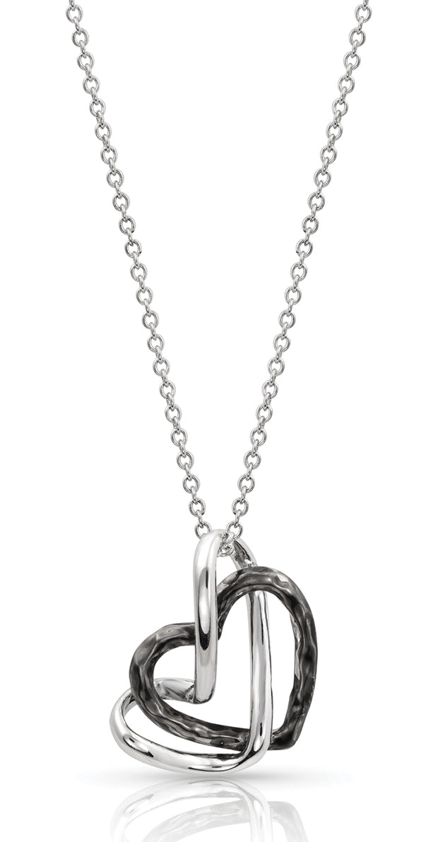 Montana Silversmiths Love Entwined Heart Necklace