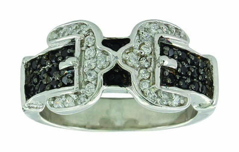 Montana Silversmiths Double Buckle Ring