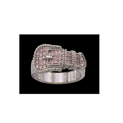 Montana Silversmiths Pink Buckle Ring RG60948