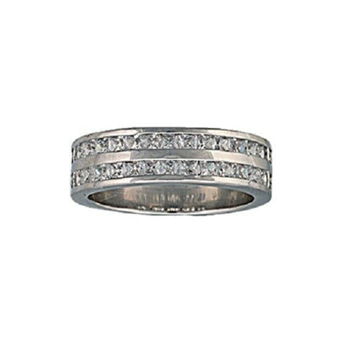 Montana Silversmiths Two Trails Channel Set Ring RG63CZ