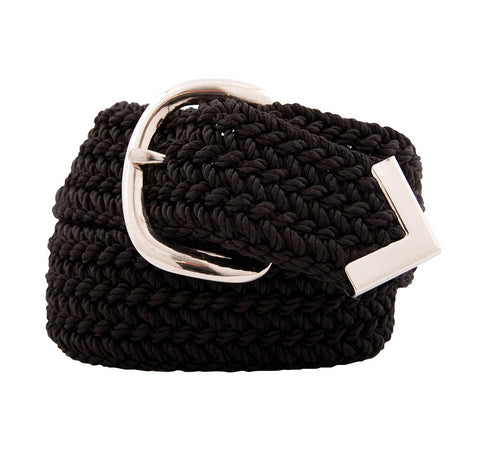 Nylon Web Belt Black
