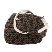 Nylon Web Belt Green Camo