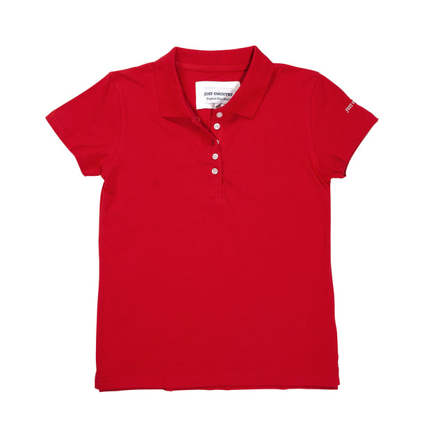 Women's - Sophie Polo Chilli WCSP1402