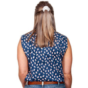 Women's - Lilly - 1/2 Button Sleeveless