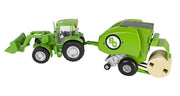 Big Country Toys Round Baler 490 with Tractor 459