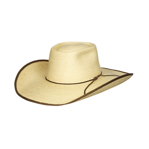 Sunbody Hats Alex Natural/Chocolate Bound Edge