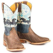 Tin Haul Women's Stampede - Retro Poster 14-021-0007-1342 BR boots