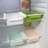 Refrigerator Space Expanding Storage Rack and Drawer