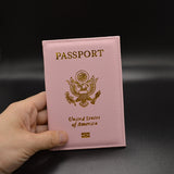 Passport Covers in Leather - United States!