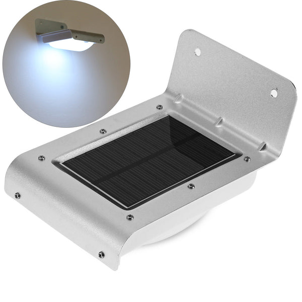Solar Power LED Motion Sensor Security Light