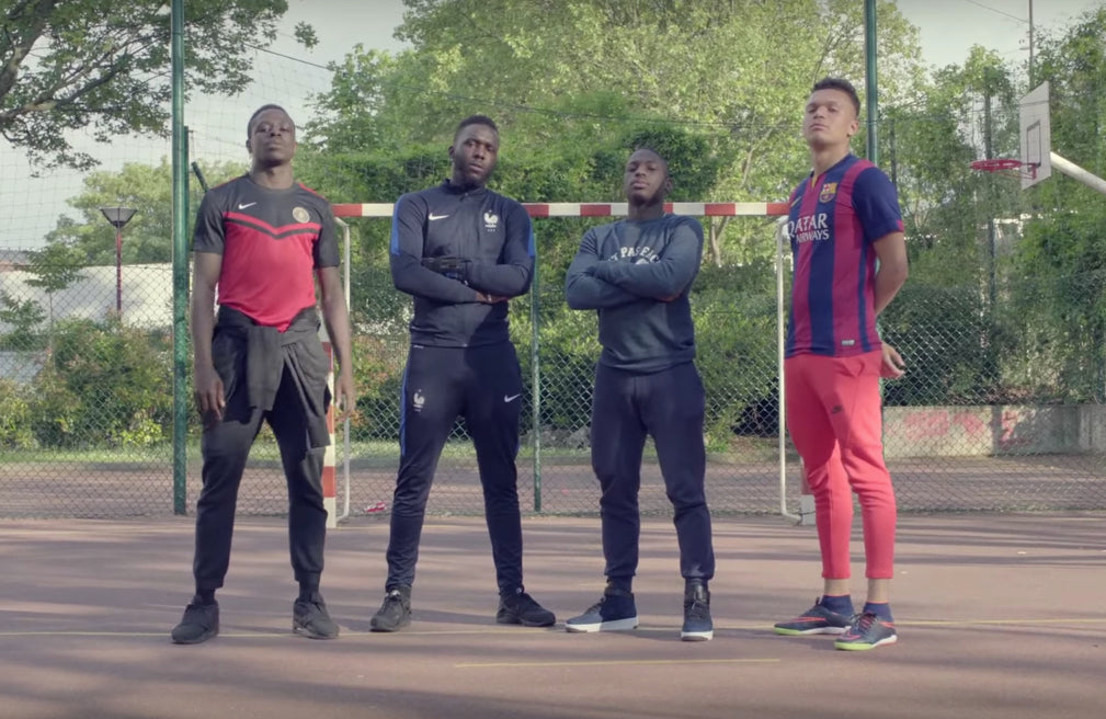 Paris-based creative agency Yard and Nike produce Street Football Doc