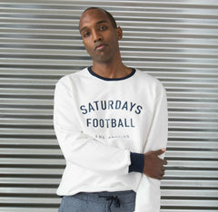 Saturdays Football Summer Sweatshirt