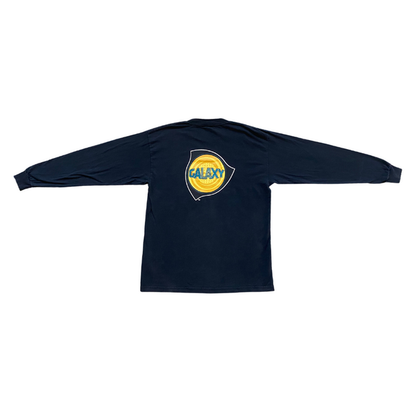 L.A. Galaxy 90's rare MLS long sleeve