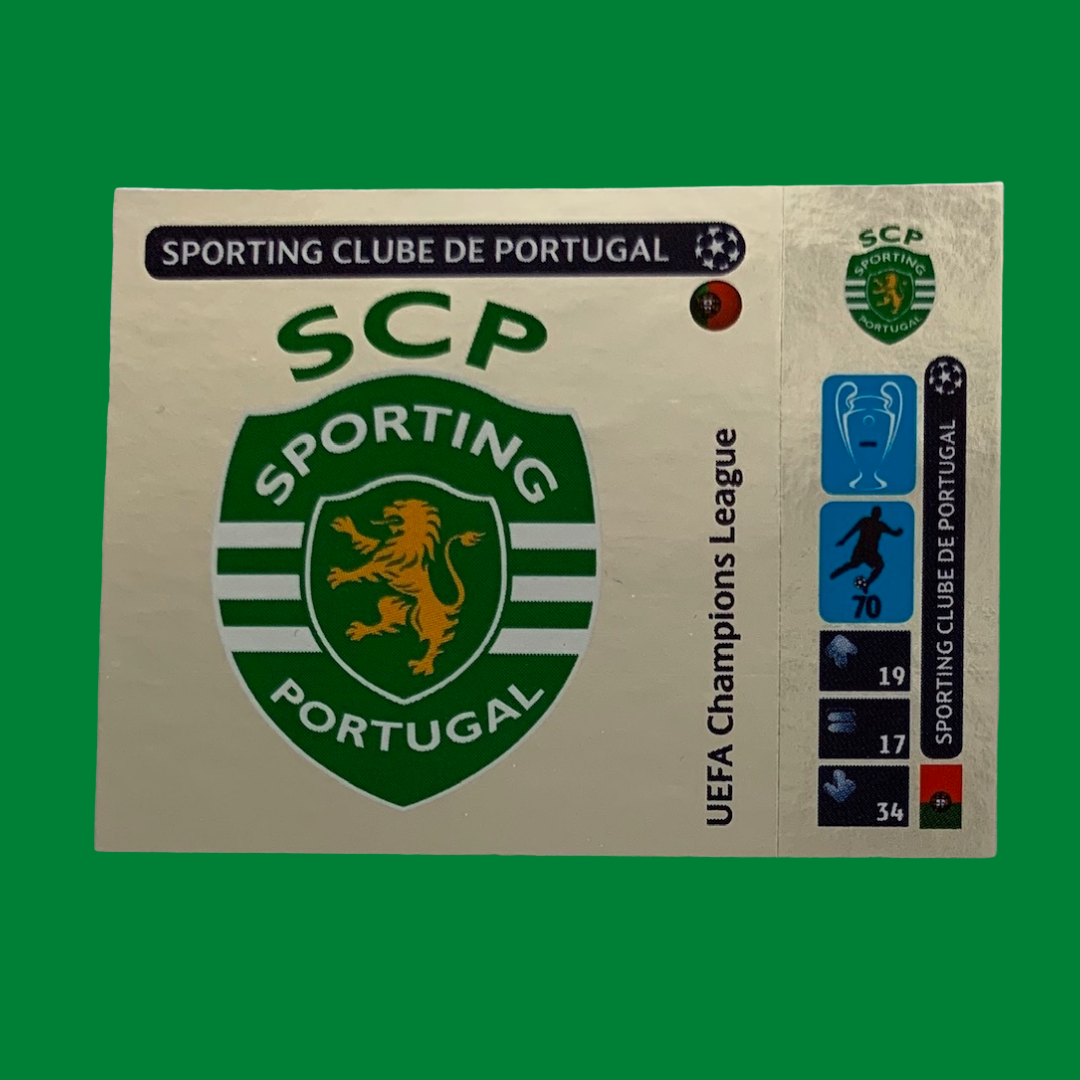 Sporting Lisbon Champions League 2014/15 Panini Sticker
