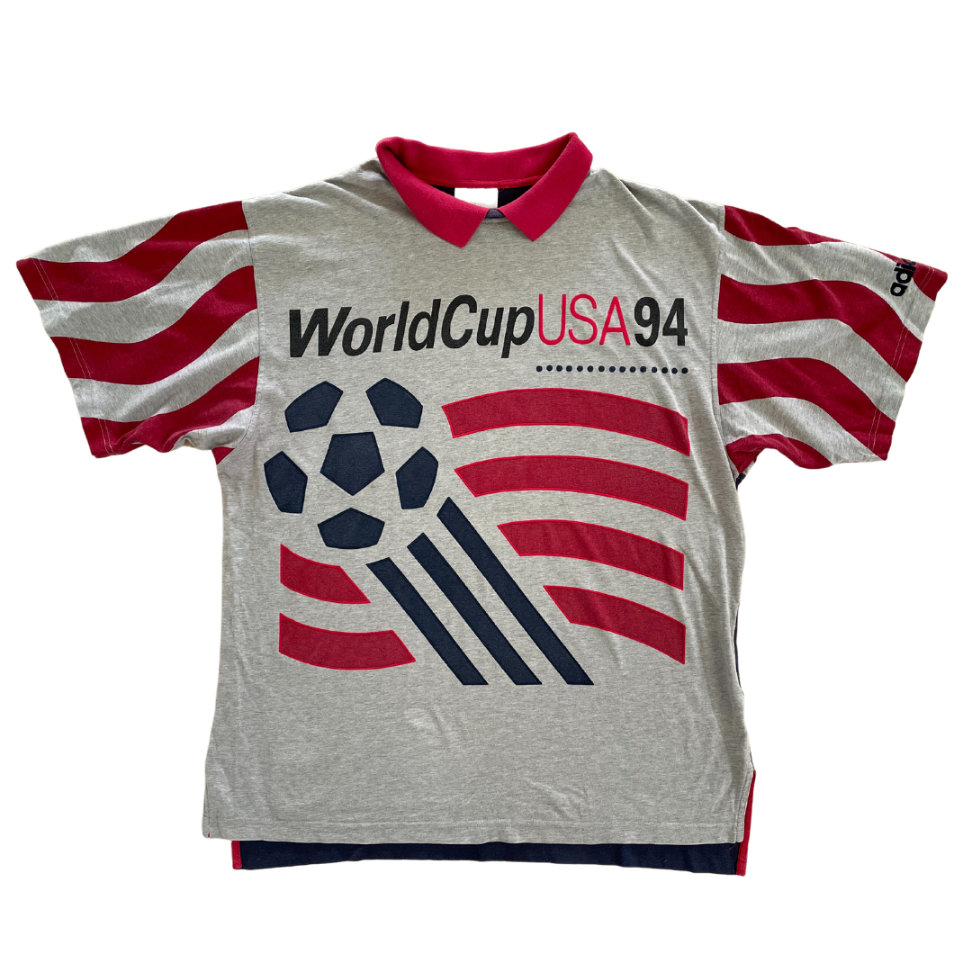 Rare USMNT World Cup 1994 Adidas T-Shirt