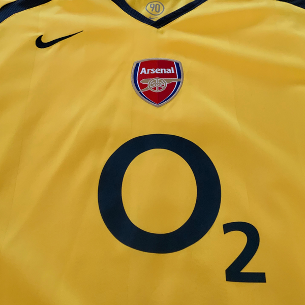 Arsenal FC 2006/07 Away Nike Jersey