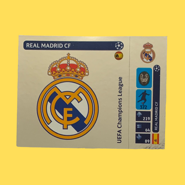 Real Madrid Champions League 2014/15 Panini Sticker