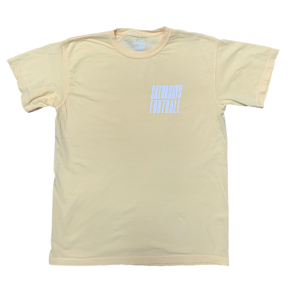 Saturdays Football #11 Limited Release Tee - Butter