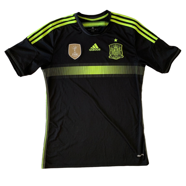 Spain National Team 2014 World Cup Away Adidas Jersey