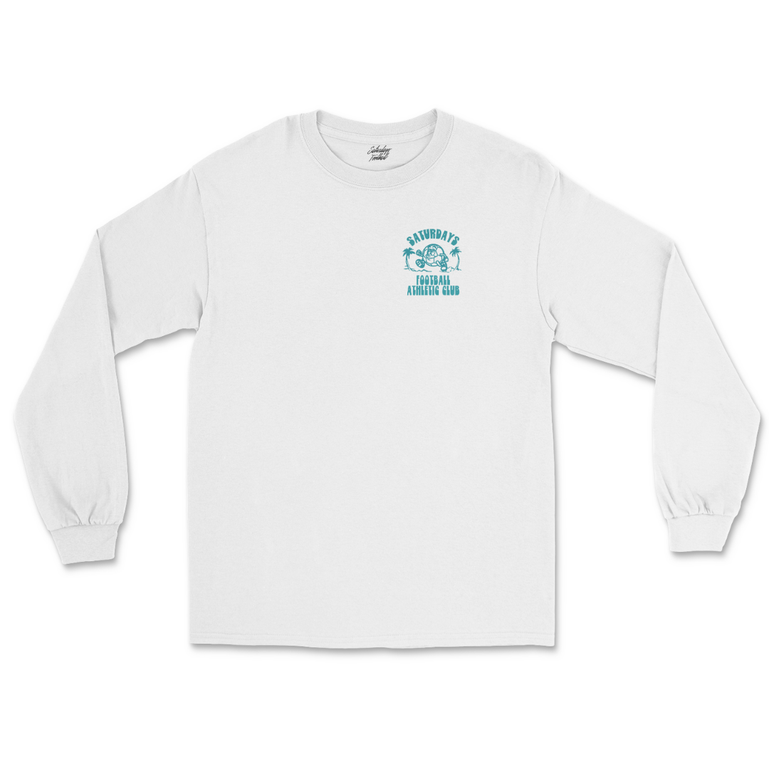 Athletic Club Long Sleeve - White