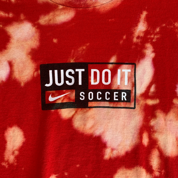 Just Do It Soccer Acid Wash