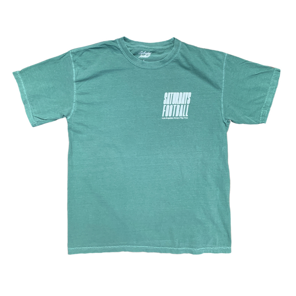 Saturdays Football Los Angeles Pigment Dyed - Light Green