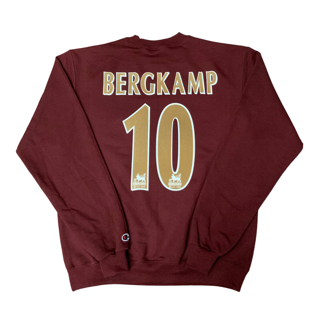 #10 Limited Release Felt Flocked Crewneck