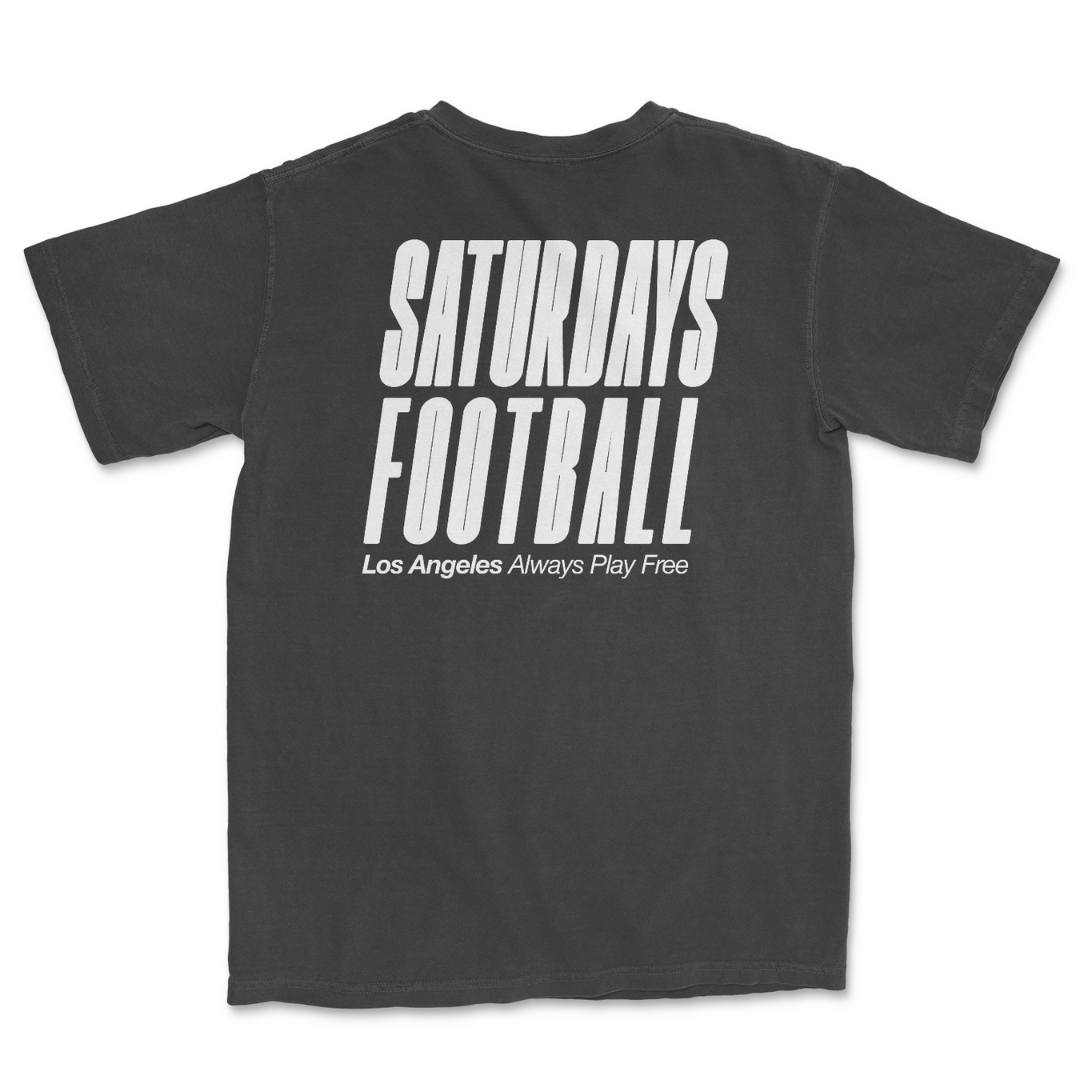 Saturdays Football Los Angeles - Pigment Dyed Charcoal