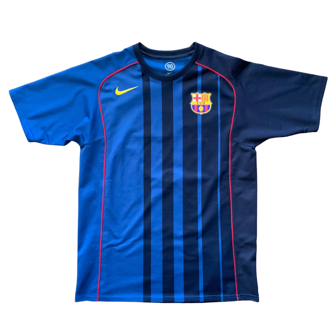 Fc Barcelona 2004/05 Away Nike Total 90 Jersey