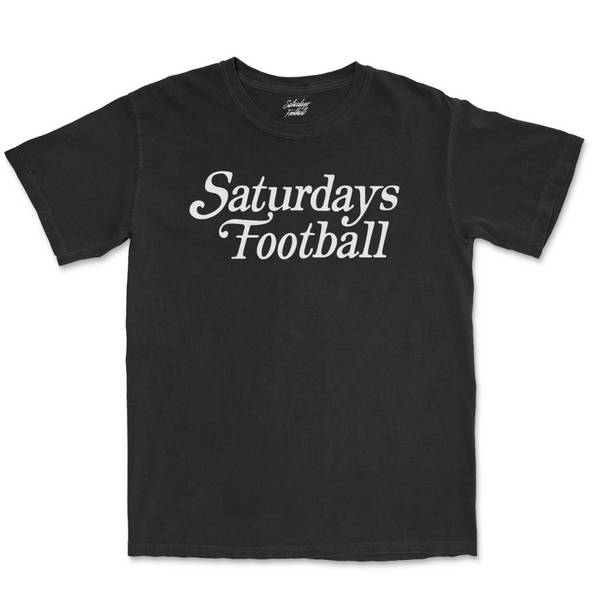 Saturdays Football Always Play Free - Black / White
