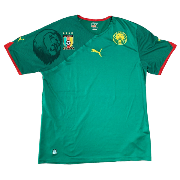Cameroon National Team 2010 World Cup Puma Jersey