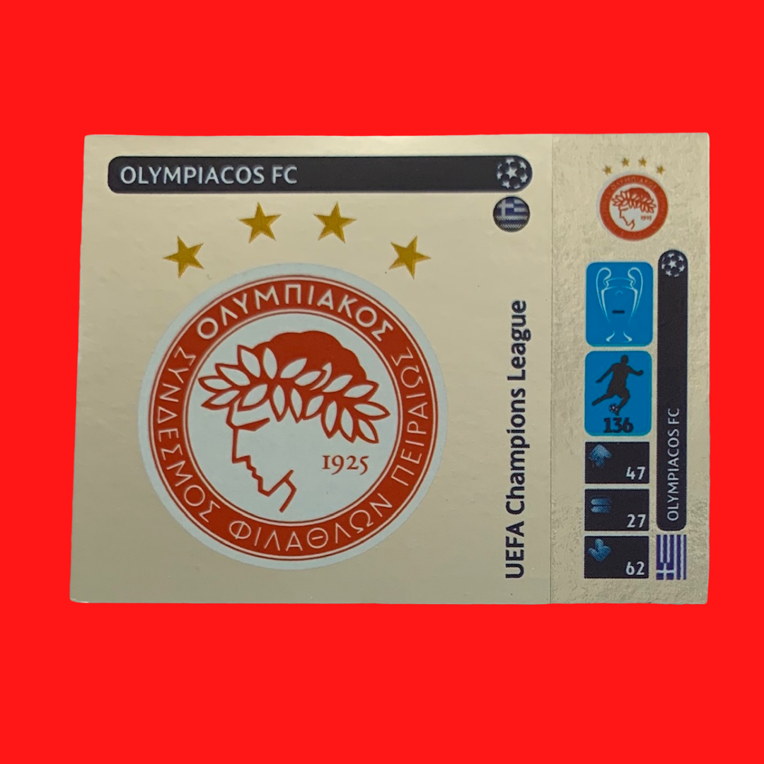 Olympiacos FC Champions League 2014/15 Panini Sticker