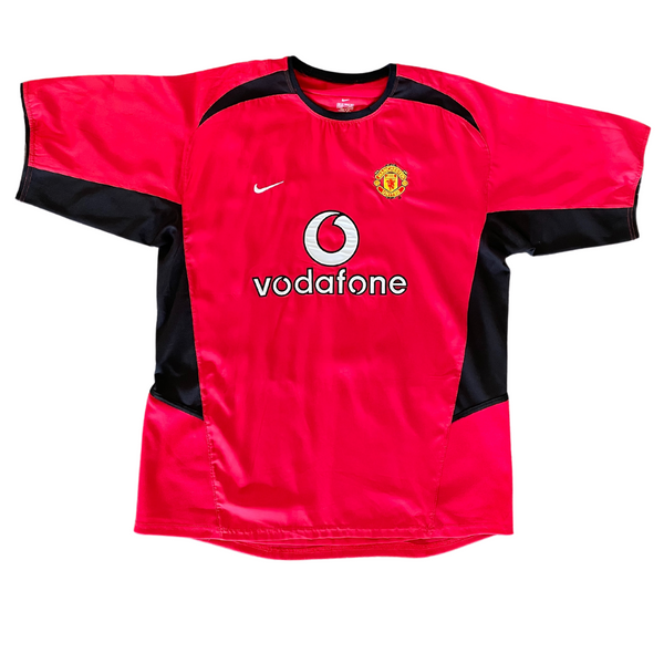Manchester United 2002/04 #7 Beckham Home Nike Jersey