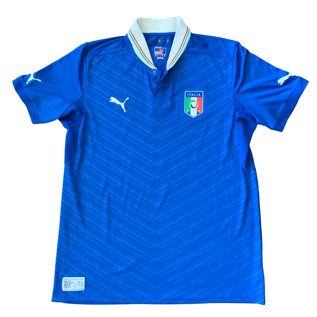Italy National Team 2012/2013 Home Puma Jersey