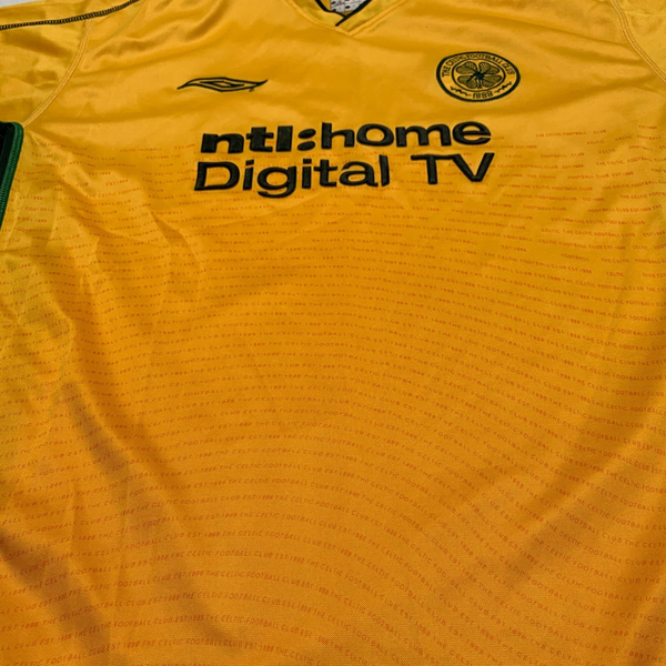 Celtic Glasgow 2002/03 Away Umbro Jersey