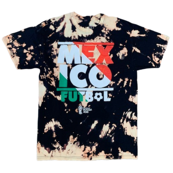1 of 1 Mexico Futbol Acid Wash T-Shirt