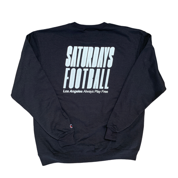 Saturdays Football Los Angeles x Champion Black