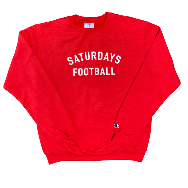 #7 Vintage Red Champion Sweatshirt Edition