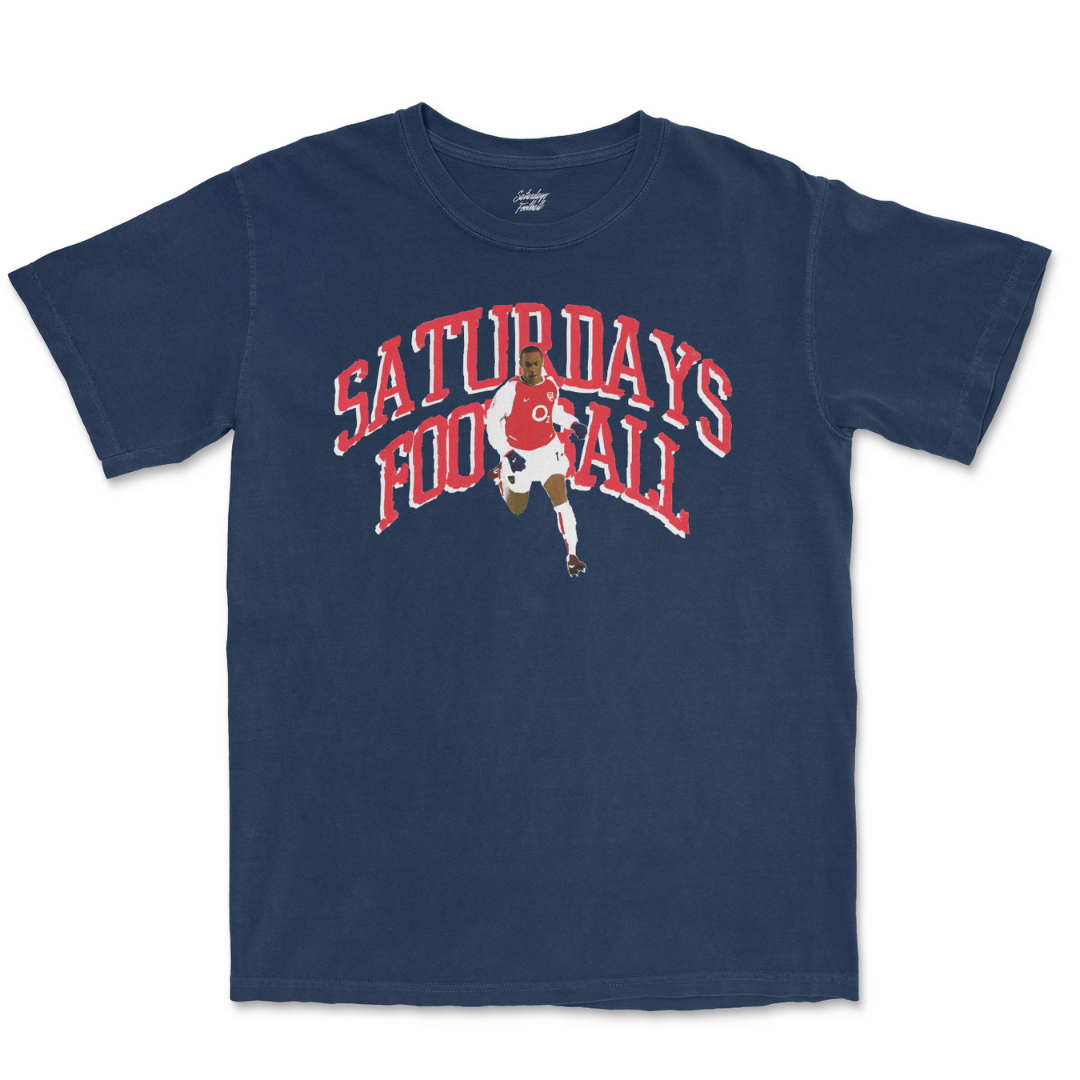 Saturdays Football Hand Drawn #14 - True Navy