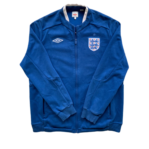 England Warm Up Umbro Zip Track Jacket