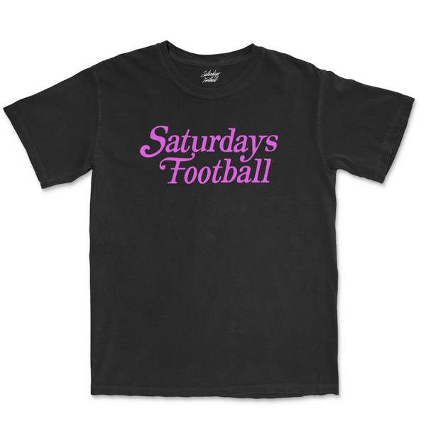 Saturdays Football Always Play Free - Black / Pink