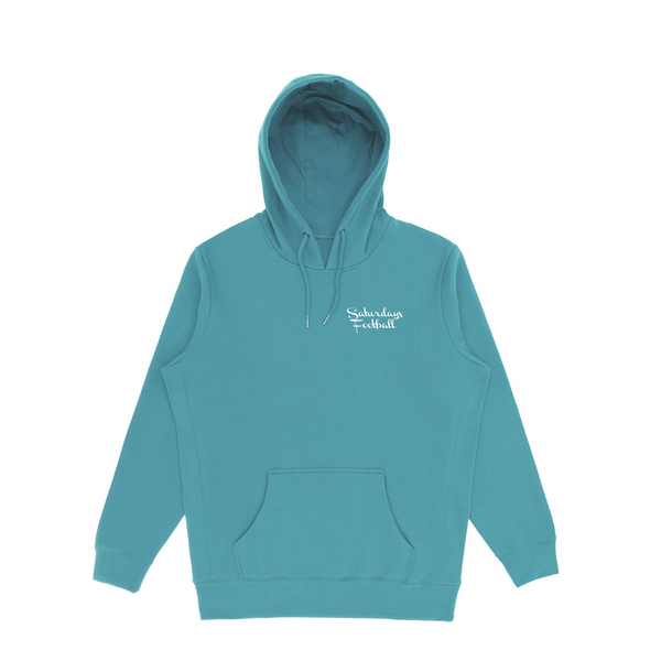 Saturdays Football Premium Hoodie - Aqua