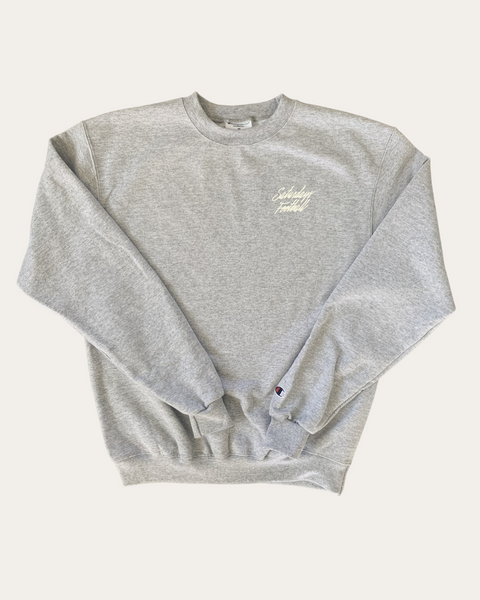 #8 Grey Champion Crewneck